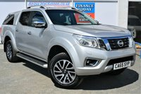 USED 2016 65 NISSAN NP300 NAVARA 2.3 DCI TEKNA 4X4 5 Seat Double Cab Pickup AUTO with NO VAT TO PAY SO SAVE 20% Latest Model with Massive High Spec inc Rear Canopy Side Steps Privacy Glass Stunning Alloys Sat Nav Heated Leather Seats DAB Digital Radio and much more 1 FORMER KEEPER