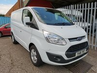 2016 FORD TRANSIT CUSTOM 290 LIMITED L1 H1 SWB Low roof 125 PS *ONLY 46000 MILES* £12250.00