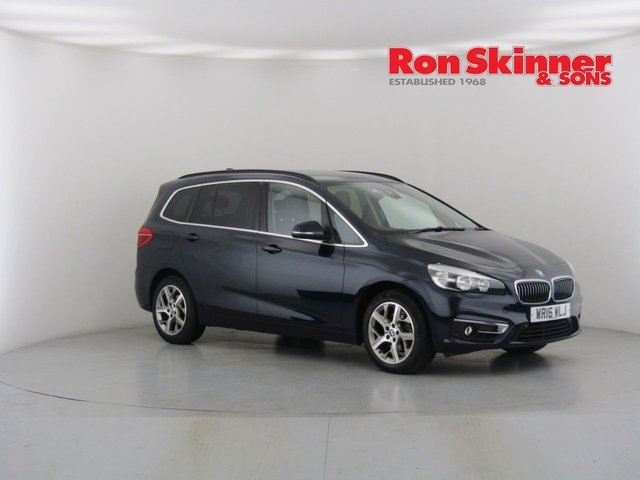 View our 2016 16 BMW 2 SERIES 1.5 216D LUXURY GRAN TOURER 5d AUTO 114 BHP