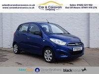 USED 2013 13 HYUNDAI I10 1.2 CLASSIC 5d 85 BHP Dealer History Air Con £20 Tax Buy Now, Pay Later Finance!