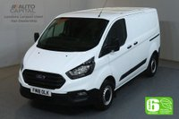 USED 2018 18 FORD TRANSIT CUSTOM 2.0 300 BASE L1 H1 129 BHP SWB EURO 6 VAN FRONT AND REAR PARKING SENSORS