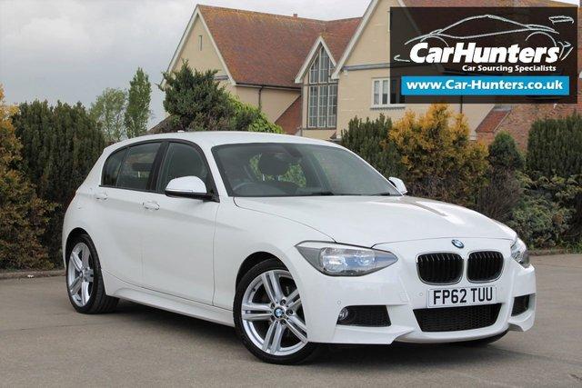 2012 62 BMW 1 SERIES 2.0 120D M SPORT 5d 181 BHP