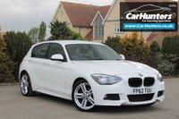 USED 2012 62 BMW 1 SERIES 2.0 120D M SPORT 5d 181 BHP