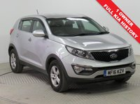 USED 2016 16 KIA SPORTAGE 1.7 CRDI 1 ISG 5d 114 BHP Stunning KIA Sportage 1.7 CRDi ISG 1 having had just 1 previous owners, comes with Full KIA Service History, an MOT until 30th January 2020 and the balance of KIA's 7 Year warranty until March 2023. In beautiful metallic Cool Silver. and comes with Air Conditioning, Bluetooth, Electrically Operated Wing Mirrors, Leather mult-functional Steering Wheel, Alloy Wheels and 2 Keys. Nationwide Delivery Available. Finance Available at 9.9% APR Representative.