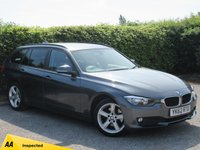 USED 2012 62 BMW 3 SERIES 2.0 320D SE TOURING 5d AUTO * 2 OWNERS FROM NEW * 128 POINT AA INSPECTED *LOW MILEAGE CAR * FULL BLACK LEATHER *