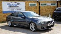 USED 2015 15 BMW 5 SERIES 3.0 530D M SPORT 4d AUTO 255 BHP
