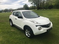 USED 2014 NISSAN JUKE 1.5 JUKE VISIA DCI **EXCELLENT FINANCE PACKAGES**£20 PER YEAR ROAD TAX**12 MONTHS MOT**