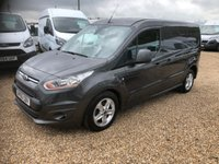 USED 2016 65 FORD TRANSIT CONNECT 1.6 240 LIMITED P/V 1d 114 BHP 2016 TWIN SIDE DOORS FULL SERVICE HISTORY ONE OWNER
