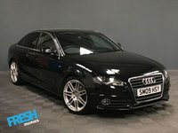 USED 2009 09 AUDI A4 2.0 TDI S LINE  * 0% Deposit Finance Available