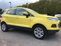 USED 2017 17 FORD ECOSPORT 1.0 ZETEC 5d LOW MILEAGE EXAMPLE STILL  WITH FORD WARRANTY  NO DEPOSIT  PCP/HP FINANCE ARRANGED, APPLY HERE NOW