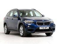 2016 BMW X1 2.0 SDRIVE18D SE 5d 148 BHP £14878.00