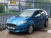USED 2015 15 FORD FIESTA 1.0 TITANIUM 5d 124 BHP Zero Tax & Great Fuel Economy