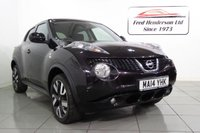 USED 2014 14 NISSAN JUKE 1.6 N-TEC 5d AUTO 115 BHP Fantastic condition, Automatic, Satellite  Navigation and Rear Camera. Very clean inside and out and a real joy to drive. Packed full of features and priced sensibly. We don't expect to wait long for this to sell so if you're interested simply get in touch as soon as you can and one of our experienced sales team will be pleased to assist. We offer  finance at competitive rates and we welcome your part exchange.