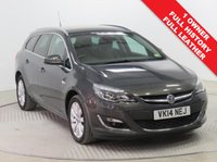 USED 2014 14 VAUXHALL ASTRA 2.0 ELITE CDTI 5d AUTO 163 BHP Stunning Vauxhall Astra Elite AUTO Estate, having had just 1 previous owner and comes with full Vauxhall Service History. In addition as an Elite the car comes with the best specification including Full Leather, Heated Seats, Front and Rear Parking Sensors, Air Conditioning, Privacy Glass, Auto Headlights, Alloy Wheels, Radio/CD, 2 Keys and a Free Warranty. nationwide Delivery Available. Finance Available at 9.9% APR Representative.
