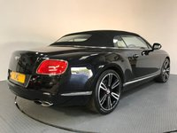 USED 2013 E BENTLEY CONTINENTAL 4.0 GTC V8 2d AUTO 500 BHP FULL BENTLEY HISTORY - MULLINER SPEC - SAT NAV - LEATHER - CAMERA - MASSAGE SEATS - 21' ALLOYS