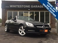 USED 2012 12 MERCEDES-BENZ SLK 2.1 SLK250 CDI BLUEEFFICIENCY 2d AUTO 204 BHP STUNNING LOW MILEAGE DIESEL,  HEATED LEATHER SEATS, AIR SCARF