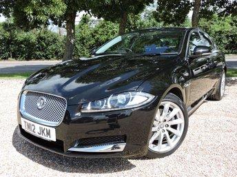 2012 JAGUAR XF 2.2 D PREMIUM LUXURY 4d AUTO 190 BHP/ SAT NAV/ REVERSING CAMERA £10950.00
