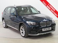 USED 2014 14 BMW X1 2.0 XDRIVE18D XLINE 5d 141 BHP Stunning BMW X1 2.0 X Drive All Wheel Drive X Line having had just 1 previous owner and comes with Full BMW Service History. In addition this beautiful car in metallic Midnight Blue comes with an array of equipment including Full Leather, Parking Sensors, Leather Multi-Functional Steering Wheel, Auto Headlights, air Conditioning, Bluetooth, Dab Radio, CD, USB/Aux, Roof Rails, Alloy Wheels, 2 Keys and a Free Warranty.  Nationwide Delivery Available. Finance Available at 9.9% APR Representative.