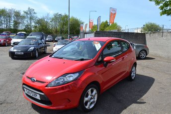 2011 FORD FIESTA 1.2 EDGE 3d 81 BHP £3495.00