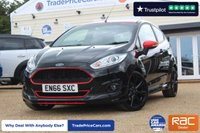 USED 2016 66 FORD FIESTA 1.0 ZETEC S BLACK EDITION 3d 139 BHP