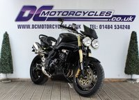 2007 TRIUMPH SPEED TRIPLE 1050   £4995.00