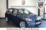 "USED 2017 17 BMW 2 Series GRAN TOURER 1.5 216D LUXURY GRAN TOURER 5DR AUTO 114 BHP full service history  FINISHED IN STUNNING ATLANTIC METALLIC GREY WITH FULL LEATHER INTERIOR + FULL SERVICE HISTORY + SATELLITE NAVIGATION + BLUETOOTH + HEATED SEATS + DAB RADIO + LIGHT PACKAGE + ACTIVE GUARD + 7 SEATS + ELECTRIC BOOT + LIGHT PACKAGE + CRUISE CONTROL + PERFORMANCE CONTROL + RAIN SENSORS + LUXURY LINE + PARKING SENSORS + 17"" ALLOY WHEELS"