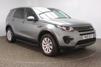 USED 2016 16 LAND ROVER DISCOVERY SPORT 2.0 TD4 SE 5DR AUTO 180 BHP 7 SEATS BLUETOOTH CLIMATE 1 OWNER FULL LAND ROVER SERVICE HISTORY + 7 SEATS + HEATED HALF LEATHER SEATS + PARKING SENSOR + BLUETOOTH + CRUISE CONTROL + CLIMATE CONTROL + MULTI FUNCTION WHEEL + DAB RADIO + ELECTRIC WINDOWS + RADIO/CD/AUX/USB + SIDE STEPS + PRIVACY GLASS + ELECTRIC MIRRORS + 18 INCH ALLOY WHEELS