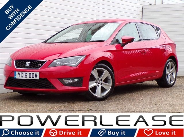USED 2016 16 SEAT LEON 1.4 ECOTSI FR TECHNOLOGY 5d 150 BHP P/SENSORS LEATHER FULL HISTORY