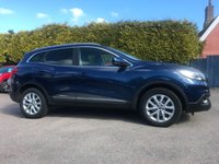 USED 2016 66 RENAULT KADJAR 1.6 DCI DYNAMIQUE NAV 5d ONE OWNER FROM NEW WITH SERVICE HISTORY  NO DEPOSIT  PCP/HP FINANCE ARRANGED, APPLY HERE NOW