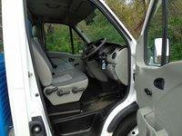 USED 2010 10 VAUXHALL MOVANO 3500 2.5CDTI 120 BHP MWB DROPSIDE TRUCK +GENUINE 28K+ NO VAT TO PAY+