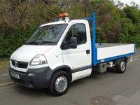 2010 VAUXHALL MOVANO 3500 2.5CDTI 120 BHP MWB DROPSIDE TRUCK £5250.00