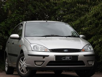 2002 FORD FOCUS 1.6 ZETEC 5d 99 BHP £890.00
