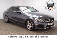 USED 2015 15 MERCEDES-BENZ C CLASS 2.1 C250 CDI BLUETEC AMG LINE 4DR AUTO 204 BHP SAT NAV HEATED LEATHER FULL SERVICE HISTORY + £30 12 MONTHS ROAD TAX + HEATED LEATHER SEATS + SATELLITE NAVIGATION + REVERSE CAMERA + ACTIVE PARK ASSIST + BLUETOOTH + CRUISE CONTROL + MULTI FUNCTION WHEEL + CLIMATE CONTROL + ELECTRIC SEATS + PRIVACY GLASS + XENON HEADLIGHTS + DAB RADIO + ELECTRIC WINDOWS + ELECTRIC MIRRORS + 18 INCH ALLOY WHEELS