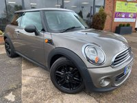 USED 2012 62 MINI HATCH ONE 1.6 ONE 3d 98 BHP