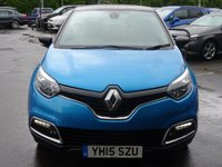 USED 2015 15 RENAULT CAPTUR 1.5 DYNAMIQUE S MEDIANAV ENERGY DCI S/S 5d 90 BHP Nav,Media,Cruise