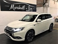 USED 2016 16 MITSUBISHI OUTLANDER 2.0 PHEV GX 3H PLUS 5d AUTO 161 BHP GREAT VALUE PLUG IN HYBRID - ONE OWNER - FULL MITSUBISHI SERVICE HISTORY - LEATHER - HEATED SEATS - PRIVACY GLASS