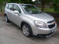 2011 CHEVROLET ORLANDO 2.0 LTZ VCDI 5d AUTO 163 BHP £5995.00