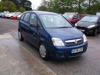 USED 2006 56 VAUXHALL MERIVA 1.4 LIFE 16V TWINPORT 5d 90 BHP A reliable, low insurance group Meriva!