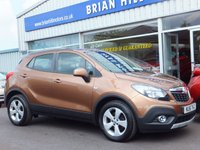 USED 2016 16 VAUXHALL MOKKA 1.6 CDTi  EXCLUSIV  S/S 5dr (134bhp) .........ONE PRIVATE OWNER. FULL VAUXHALL SERVICE HISTORY.  CLIMATE, ALLOYS. CRUISE (£20 Road tax & 68mpg)
