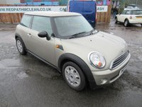 2007 MINI HATCH ONE 1.4 ONE 3d 94 BHP £2695.00