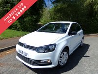 USED 2015 65 VOLKSWAGEN POLO 1.0 S AC 3d 60 BHP ONE OWNER FROM NEW  TWO KEYS 3 SERVICE STAMPS FULL SIZE SPARE WHEEL