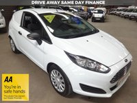 USED 2014 63 FORD FIESTA 1.5 BASE TDCI VAN - AA DEALER PROMISE - TRADING STANDARDS APPROVED -