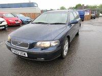 2002 VOLVO V70 2.4 D5 SE 5d AUTO 163 BHP £1495.00