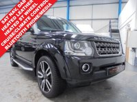 "USED 2016 16 LAND ROVER DISCOVERY 3.0 SDV6 COMMERCIAL SE 5d AUTO 255 BHP Full Land Rover Service History, Heated Leather Seats and Steering Wheel, Satellite Navigation, Front and Rear Parking Sensors, Rear View Camera, Bluetooth Phone and Media Streaming, DAB Radio, Auto Lights and Wipers, Cruise Control, Dual Zone Climate, Remote Control Pre Heater, Voice Commands, Detachable Tow Bar, 20"" Alloys"