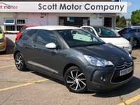 2015 DS DS 3 1.2 DStyle Nav Puretech S/S - only 8,000 miles! £7799.00