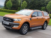2016 FORD RANGER 3.2 WILDTRAK 4X4 DCB TDCI 1d AUTO 197 BHP £SOLD