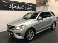 2012 MERCEDES-BENZ M CLASS 3.0 ML350 BLUETEC SPORT 5d AUTO 258 BHP £17899.00
