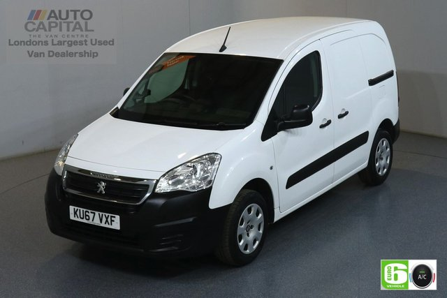 2017 67 PEUGEOT PARTNER 1.6 BLUE HDI PROFESSIONAL SWB 100 BHP EURO 6 AIR CON MANUFACTURER WARRANTY UNTIL 06/09/2020