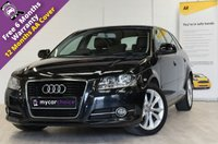 USED 2010 60 AUDI A3 1.6 MPI SPORT 5d 101 BHP FULL SERVICE HISTORY, CAMBELT CHANGED, F+R PARKING SENSORS