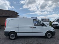 USED 2014 14 MERCEDES-BENZ VITO 2.1 113 CDI COMPACT AC AC, ONE PREV OWNER, FULL DEALER HISTORY, PLY LINED, TIDY
